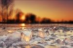 Sun on ice....
