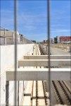 Линии железной дороги ведущей в направлении Мадрида.